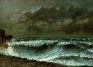 Gustave Courbet Squall on the horizon